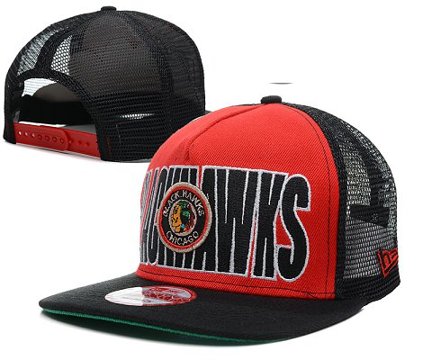Chicago Blackhawks NHL Snapback Hat SD2