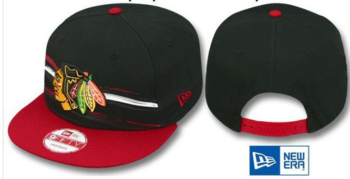 Chicago Blackhawks NHL Snapback Hat Sf02