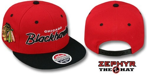 Chicago Blackhawks NHL Snapback Hat Sf05