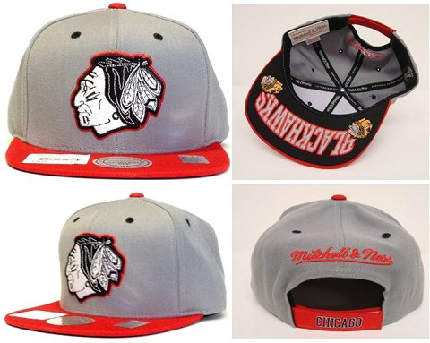 Chicago Blackhawks NHL Snapback Hat Sf09