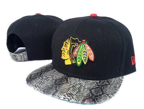 Chicago Blackhawks NHL Snapback Hat Sf10