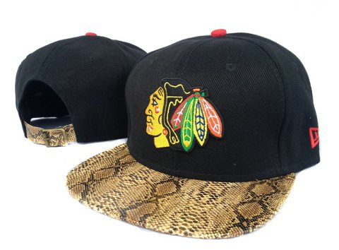 Chicago Blackhawks NHL Snapback Hat Sf11