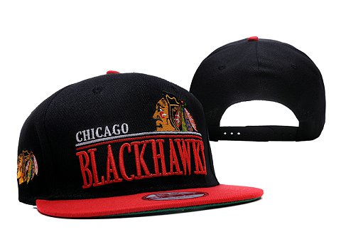 Chicago Blackhawks NHL Snapback Hat XDF3