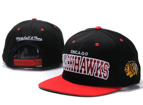 Chicago Blackhawks NHL Snapback Hat YS09