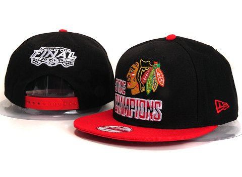 Chicago Blackhawks NHL Snapback Hat YS20