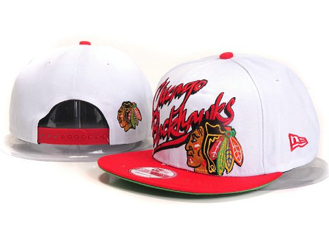 Chicago Blackhawks NHL Snapback Hat YS22