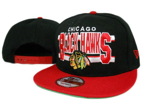 Chicago Blackhawks NHL Snapback Hat ZY08