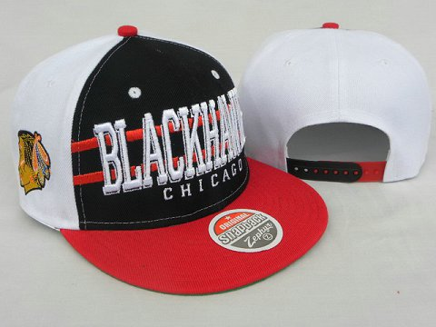Chicago Blackhawks NHL Snapback Zephyr Hat DD09
