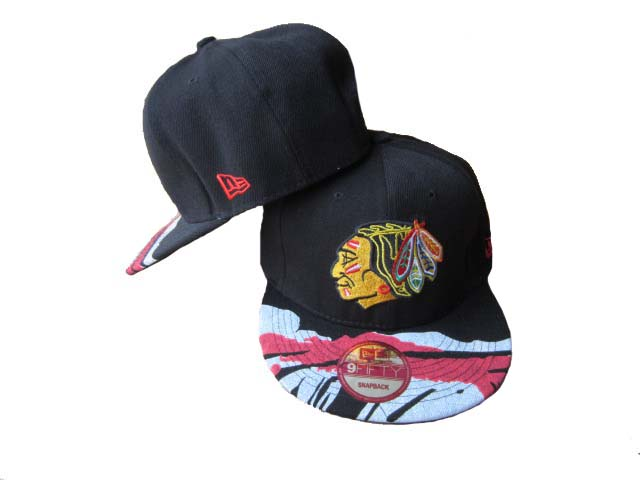Chicago Blackhawks Snapback Hat LX69