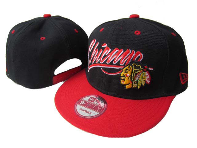 Chicago Blackhawks Snapback Hat LX83