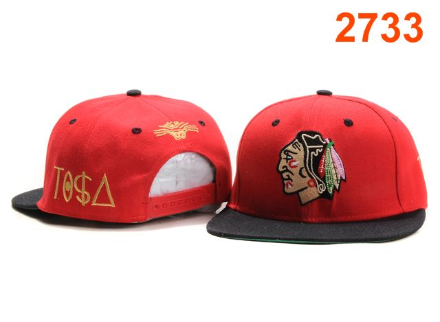 Chicago Blackhawks TISA Snapback Hat PT39