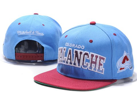 Colorado Avalanche NHL Snapback Hat YS06