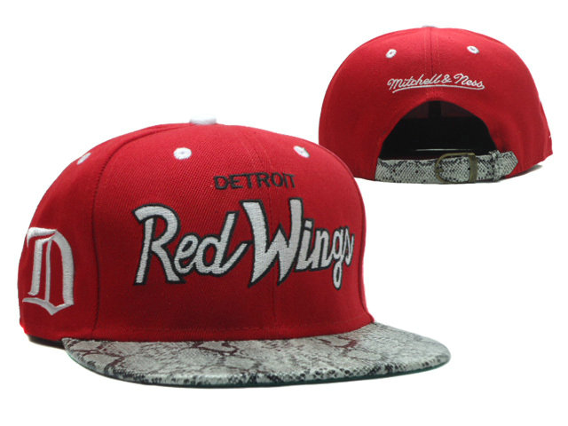 Detroit Red Wings Red Snapback Hat SF