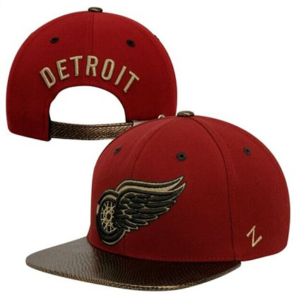 Detroit Red Wings Hat 60D 150229 08