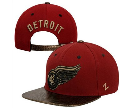 Detroit Red Wings Hat 60D 150416 22