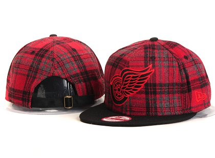 Detroit Red Wings New Type Snapback Hat YS 8U3