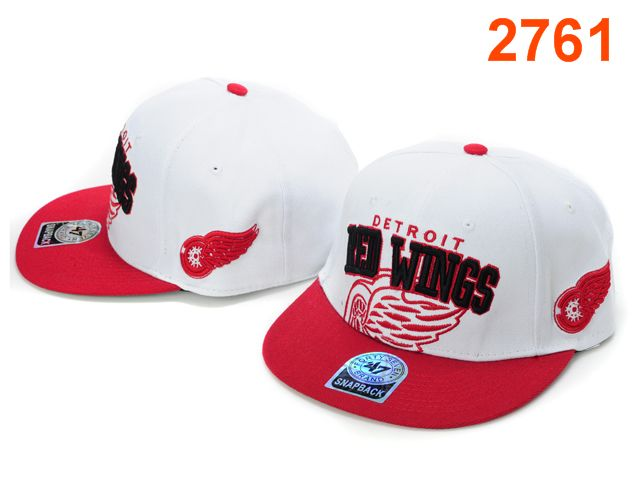 Detroit Red Wings 47 Brand Snapback Hat PT04