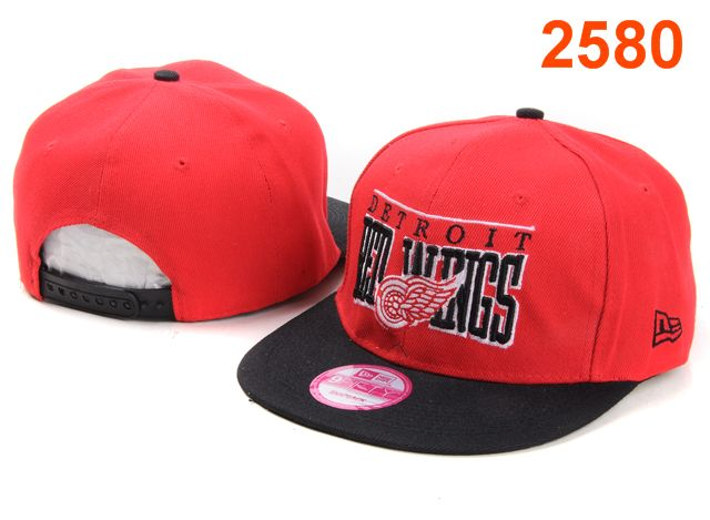 Detroit Red Wings NHL Snapback Hat PT15