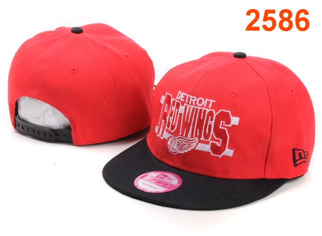 Detroit Red Wings NHL Snapback Hat PT21