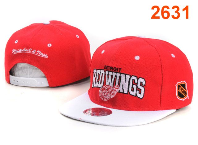 Detroit Red Wings NHL Snapback Hat PT30