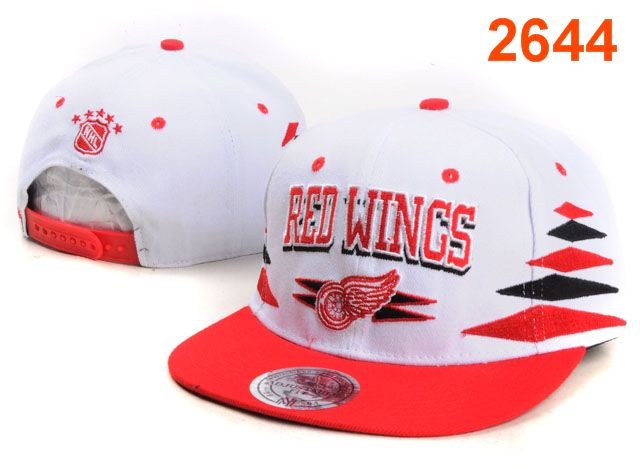 Detroit Red Wings NHL Snapback Hat PT43