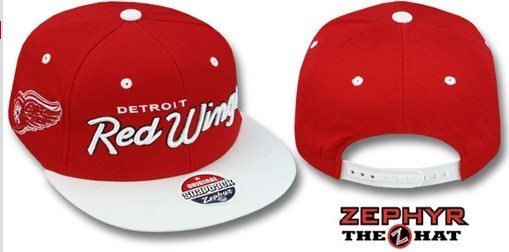 Detroit Red Wings NHL Snapback Hat Sf2