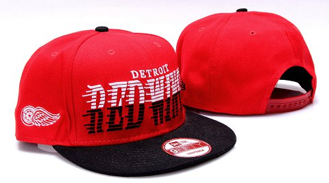 Detroit Red Wings NHL Snapback Hat YS03