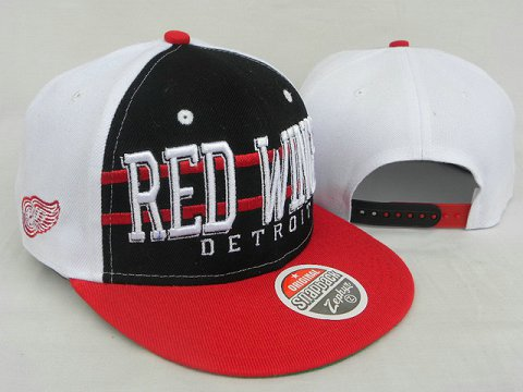 Detroit Red Wings NHL Snapback Zephyr Hat DD12