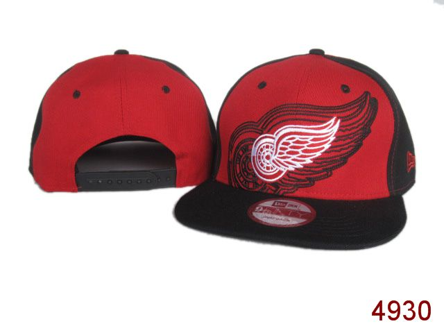 Detroit Red Wings Snapback Hat SG 3812