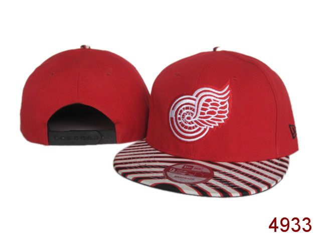 Detroit Red Wings Snapback Hat SG 3815