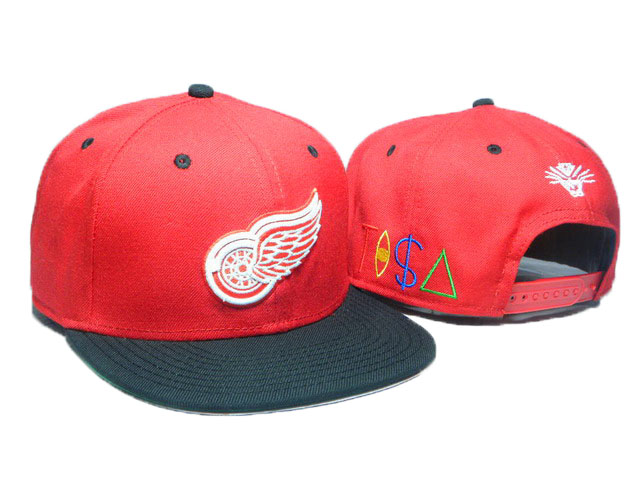 Detroit Red Wings TISA Snapback Hat DD24