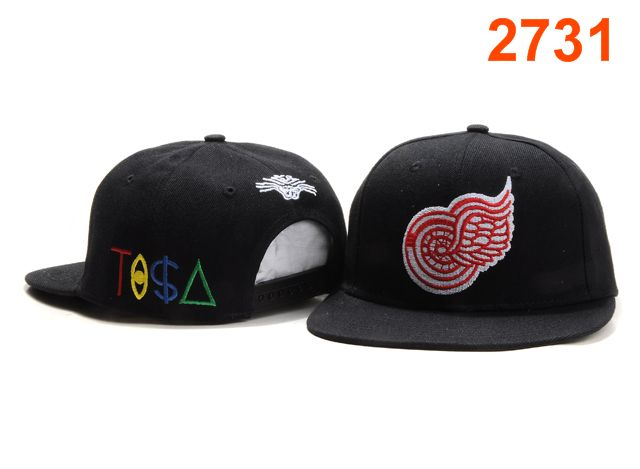 Detroit Red Wings TISA Snapback Hat PT37