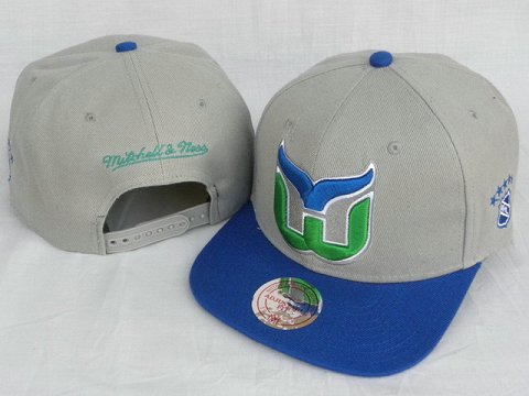 Hartford Whalers Mitchell&Ness Snapback Hat DD 0004