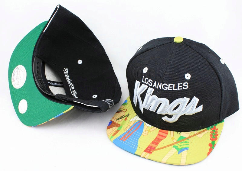 Los Angeles Kings Black Snapback Hat JT 0613