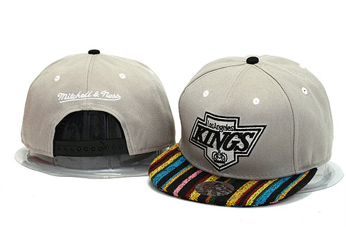 Los Angeles Kings Grey Snapback Hat YS 0613