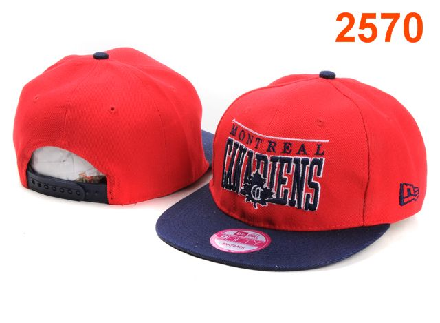 Montreal Canadiens NHL Snapback Hat PT05