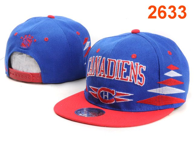 Montreal Canadiens NHL Snapback Hat PT32
