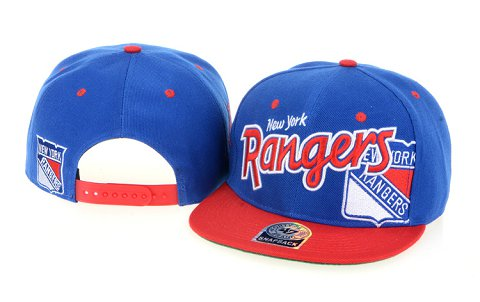 New York Rangers NHL Snapback Hat 60D1
