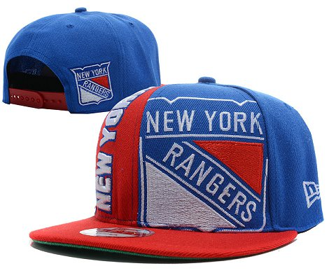 New York Rangers NHL Snapback Hat SD1