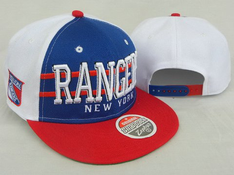 New York Rangers NHL Snapback Zephyr Hat DD07
