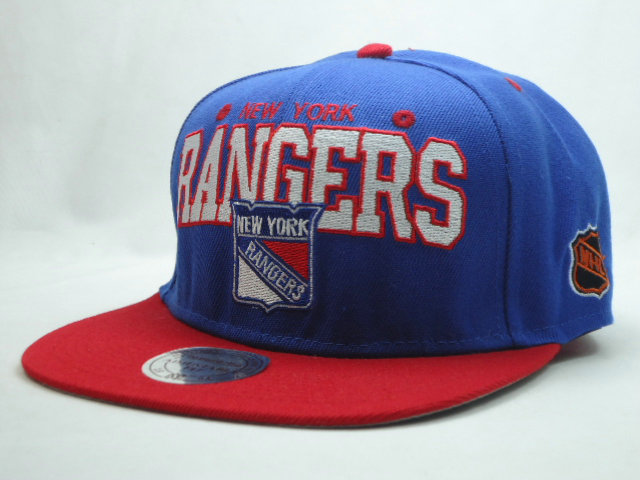 New York Rangers Snapback Hat SF