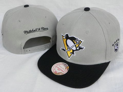 Pittsburgh Penguins Mitchell&Ness Snapback Hat DD 0005