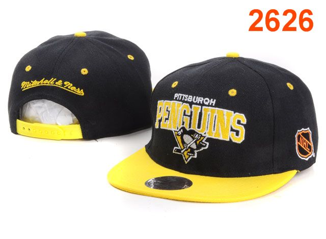 Pittsburgh Penguins NHL Snapback Hat PT25