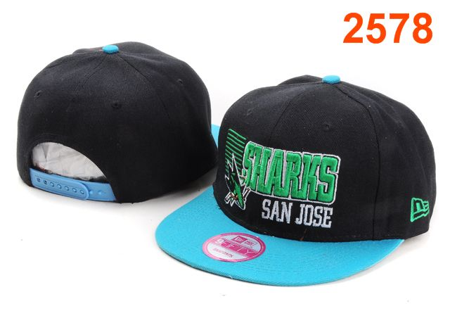 San Jose Sharks NHL Snapback Hat PT13