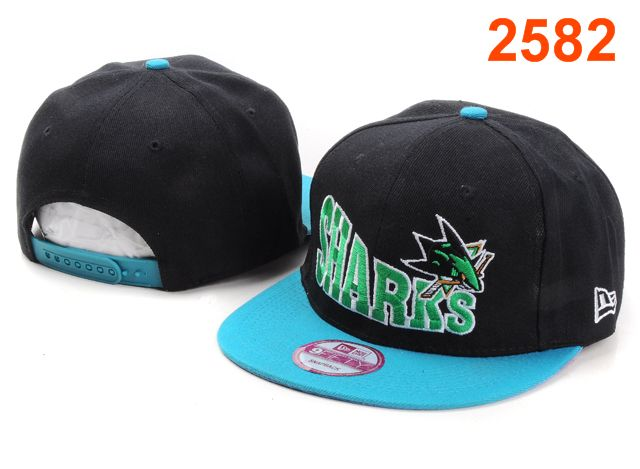 San Jose Sharks NHL Snapback Hat PT17
