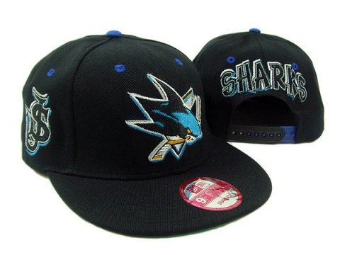 San Jose Sharks NHL Snapback Hat SD2