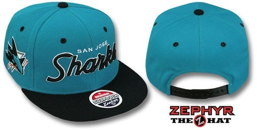 San Jose Sharks NHL Snapback Hat Sf1