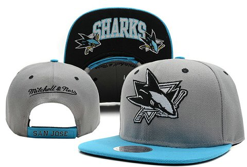 San Jose Sharks NHL Snapback Hat XDF9