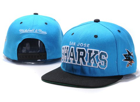 San Jose Sharks NHL Snapback Hat YS08