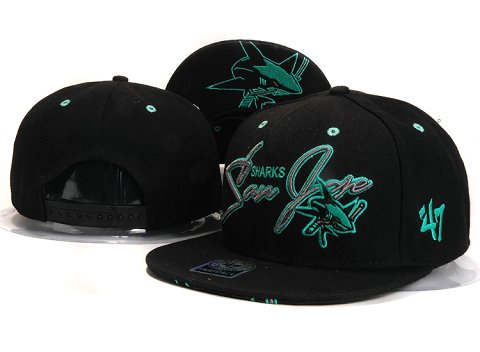 San Jose Sharks NHL Snapback Hat YS15